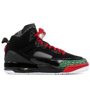 Nike Air Jordan Spizike Black Red Green 317321-026